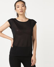 Asics Performance Layering SS Top Black
