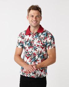 DSI. Floral4Dayz Golfer Red