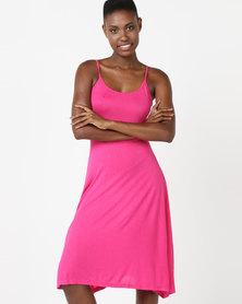 Betty Basics Sahara Midi Dress Pink