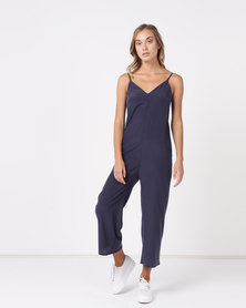 Nucleus Simple Jumpsuit Navy