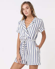 Nucleus Short-suit Blue Stripe