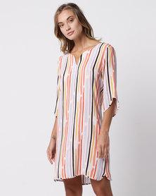 Nucleus Tunic Dress Stripe
