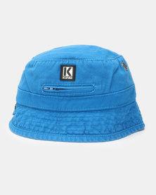 Klevas Roberto Bucket Hat Royal Blue
