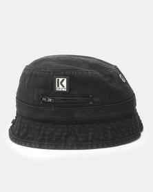 Klevas Roberto Bucket Hat Black
