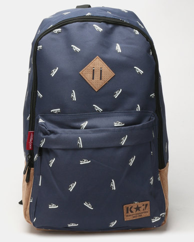 K7 STAR Ola Backpack Navy