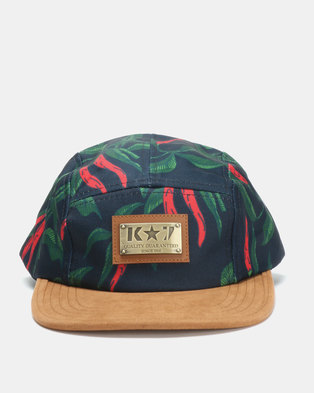 K7 STAR Chile Print Cap Navy 648a6978f933