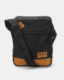 K7 STAR Slinger Cross Body Bag Black