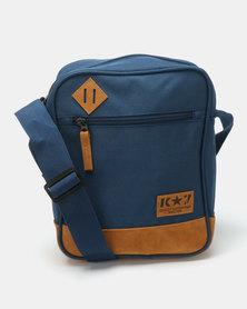 K7 STAR Slinger Cross Body Bag Navy