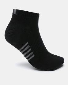 K7 STAR Field Stripe Socks Black
