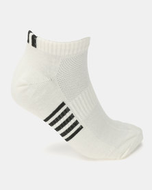 K7 STAR Field Stripe Socks White