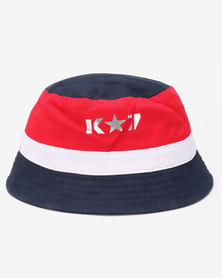 K7 STAR Outcast Bucket Hat Navy 62a0f2b789e9