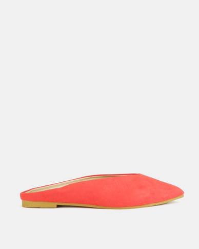 Legit Shaped Slip-ons Pointy Red