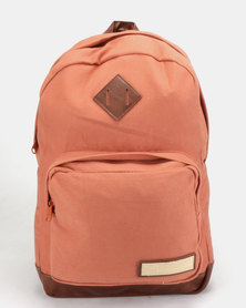RVCA Schooled Back Pack Red