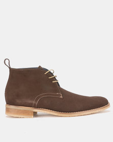 Watson K Suede Boots Chocolate