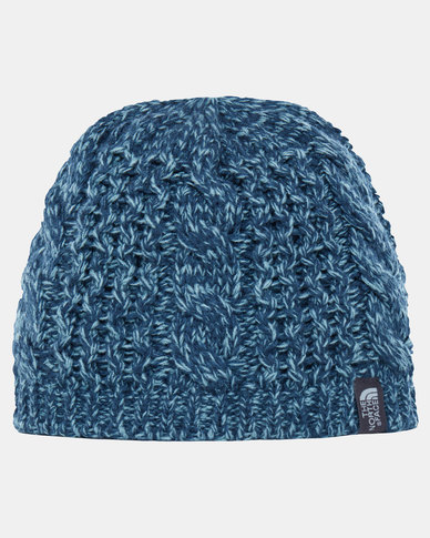 14adf0f0c66 The North Face Cable Minna Beanie Ink Blue