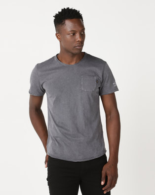 Alpha Industries Eagle T-Shirt Charcoal