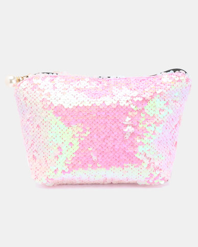 Lily & Rose Sequince Cosmetic Bag Pink