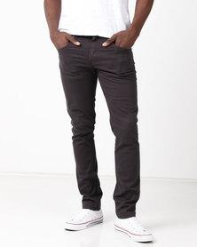 Lee Detriot  Reactive Stretch Pants Charcoal