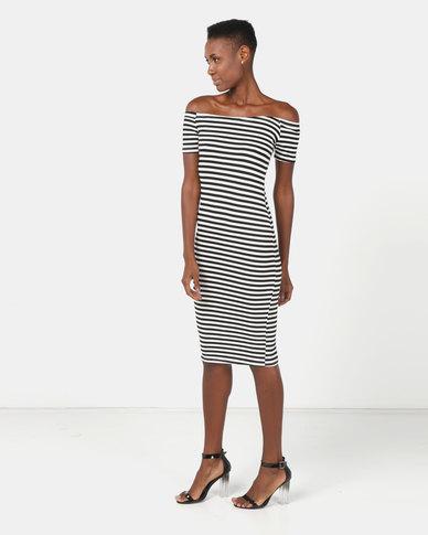 Legit 2 Pack Bardot Tube Dress Multi