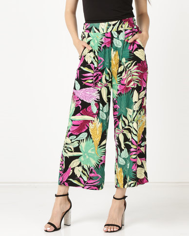 Legit Side Pocket Culotte Multi