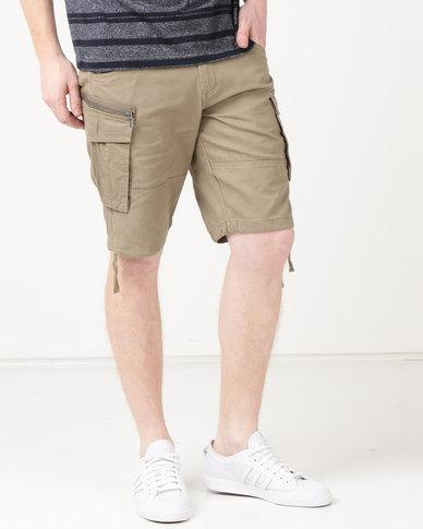 JCrew Cargo Shorts Khaki
