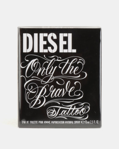 Diesel Only The Brave Tattoo Edt Spray 75mlparallel Import Zando