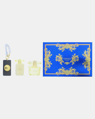 8e738863 Versace Yellow Diamond Intense EDP 90ml & Body Lotion 100ml & Bag  Tag(Parallel Import