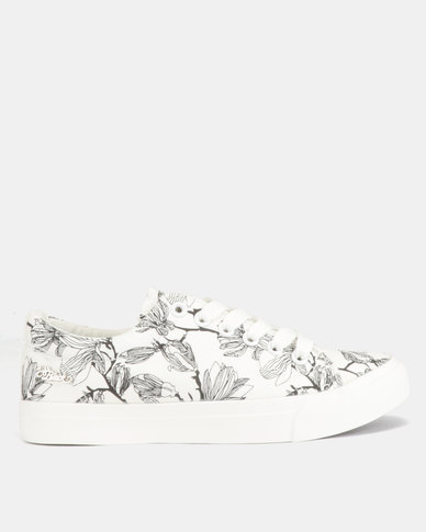 Miss Black Cynthia Sneakers White