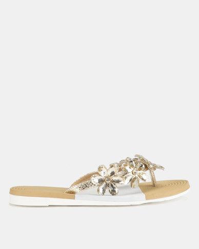 Miss Black Folle Sandals Gold