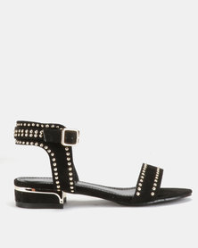Miss Black Megan Sandals Black
