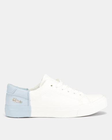 Miss Black Miki Sneaker White/Blue