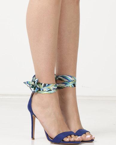 Miss Black Skylar Heels Blue