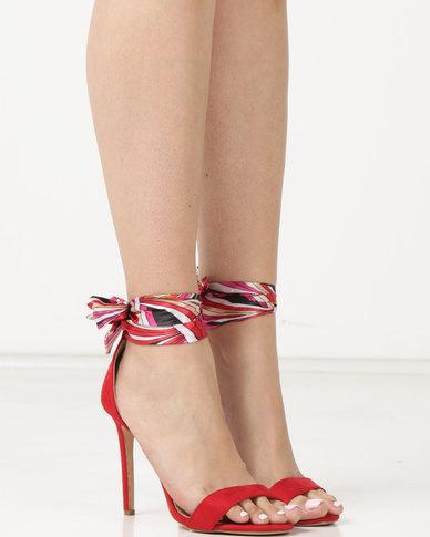 Miss Black Skylar Heels Red