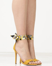 Miss Black Skylar Heels Yellow