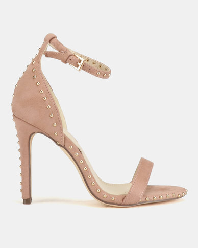 Miss Black Tess Heel Sandals Pink