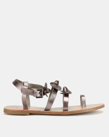 Miss Black Hania Sandals Pewter