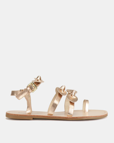 Miss Black Hania Sandals Rose Gold