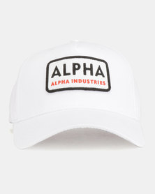 Alpha Industries Alpha Van Peakcap White