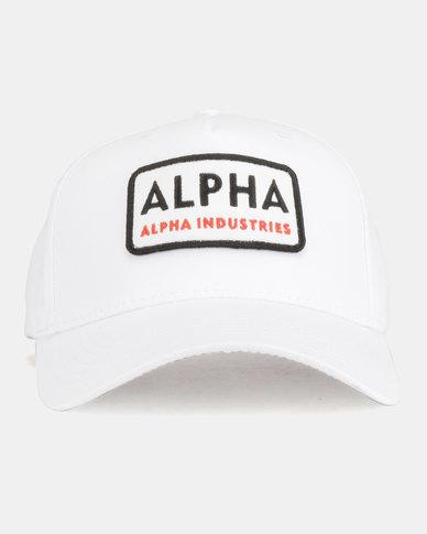 Alpha Industries Alpha Van Peakcap White