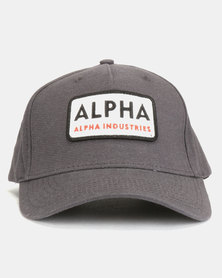 Alpha Industries Alpha Van Peakcap Grey