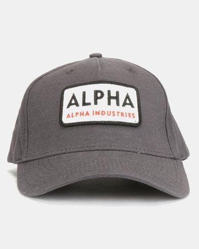 Alpha Industries Alpha Van Peakcap Grey