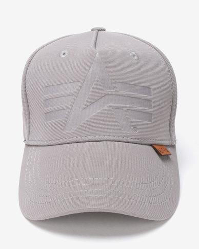 wholesale dealer 665cd 93fc1 Alpha Industries Otto Fexfit Peak Cap Grey