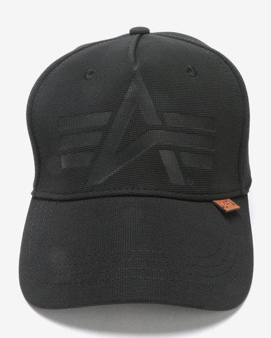 Alpha Industries Otto Fexfit Peak Cap Black