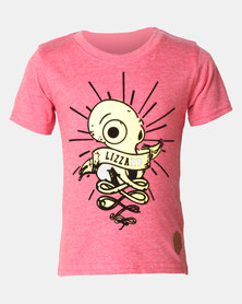 Lizzard Boys Alessio Tee Red