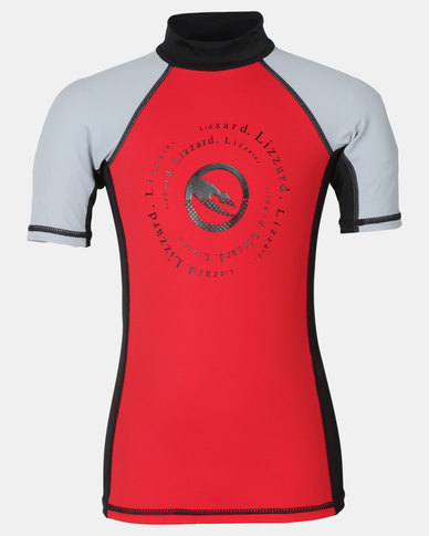 Lizzard Boys Akim Rash Vest Red