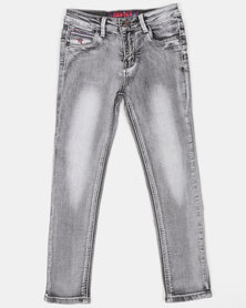 Soviet Boys Bonanza Denim Jeans Grey
