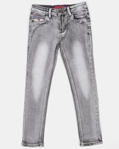 Soviet Boys Bonanza Denim Jeans Grey