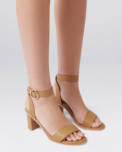 89971ad75d0 Forever New AUDRINA LOW BLOCK HEEL TAN