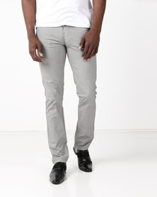 DSI. Smart Guy Pants Grey Check
