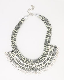 Joy Collectables Extravagant Necklace Grey